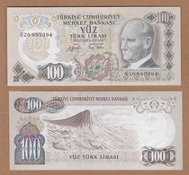 AC - TURKEY - 6 Th EMISSION 100 TL G UNCIRCULATED MOUNT ARARAT - Turquie