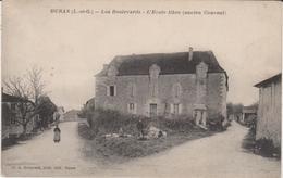 47.Duras.Les Boilevards.L'Ecole Libre (ancien Couvent). - France