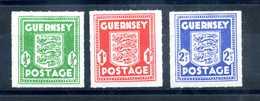 1941-44 GUERNSEY Occup. Tedesca SET MNH ** - Guernesey