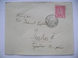Cover Sent First Day Of Issue 28.XI.1945 Jan Sladky Kozina Mi 478 - DOMAZLICE 250. Vyroci Popravy 1695-1945 - Tchécoslovaquie