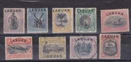 LABUAN  :   Neufs X Et Oblitérés  Cote 200,00 Euros - Gran Bretaña (antiguas Colonias Y Protectorados)