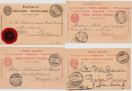 UPU, 1900, Rasierklingen-Stp. , 4 GSK , #a1470 - 1882-1906 Armarios, Helvetia De Pie & UPU