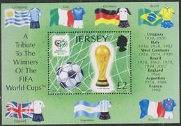 Jersey 2006 Yvertn° Bloc  70 *** MNH Cote 10 Euro Football - Jersey