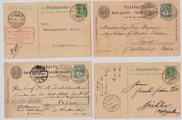 Ca. 1902-09, Je Klarer Rasierklingen-Stp.  , #a1471 - 1882-1906 Armarios, Helvetia De Pie & UPU