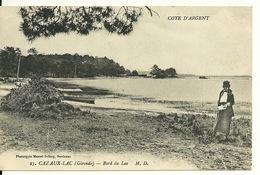 33 - CAZAUX LAC / BORD DU LAC - France