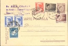 74490- KING MICHAEL POSTCARD STATIONERY, KING MICHAEL STAMPS, 1947, ROMANIA - 1918-1948 Ferdinand I., Charles II & Michel