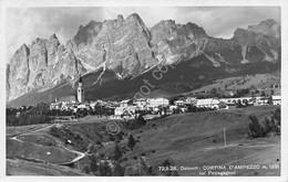 Cartolina Cortina D'Ampezzo Panorama 1939 - Belluno