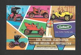 PUBLICITÉ - ADVERTISING - LABATT VOUS INVITE LES BELLES D'AUTREFOIS - LABATT INVITES YOU THE BELLES OF YESTERYEAR - Publicité