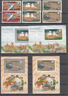 Khmer Cambodia 1974,6V+4 Blocks,PERF+IMP,centenario De La UPU 1874-1974,Union Postale Universelle,MNH/Postfris(L3368) - UPU (Universal Postal Union)