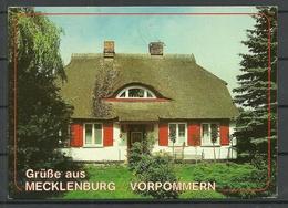 Germany Mecklenburg-Vorpommern Sent 1992 With Stamp - Allemagne