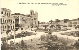 SAO LUIZ   --  Place Joao Lisboa - Plaza De Joao Lisboa ( 2 SCANS ) - São Luis