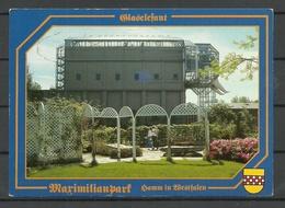Deutschland HAMM Maximilianport Glaselefant Sent 1992 With Stamp - Hamm