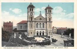 ANTILLES - CARAIBES / 2 - A Corpus Christi Procession Saint John's - Antilles Neérlandaises