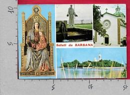 CARTOLINA VG ITALIA - Saluti Da BARBANA (GO) - Vedutine Multivue - 10 X 15 - ANN. 1978 - Saluti Da.../ Gruss Aus...