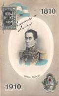 Argentine - Patriotic / 57 - Médaillon - Simon Bolivar - Argentine