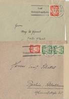 Sclumate & Breite Lesken: 4 L. Affranchie Dont N° 250 (  , 40p + 15 Rouge-brun ) De DANZIG / Les 29.12.28 +bdf-1.3.3723. - Dantzig