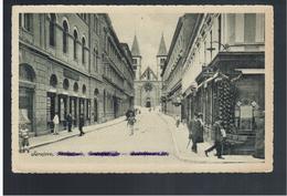 BOSNIA Sarajevo Rudolfstrasse Ca 1915 OLD POSTCARD 2 Scans - Bosnia And Herzegovina