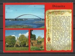 Deutschland DÖMITZ Sent 1997 With Stamp - Dömitz