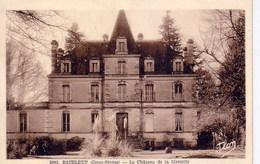 Beceleuf, Deux Sévres,  Le Chateau De La Marzelle - France