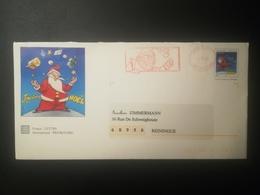 Enveloppe Père Noël 1998 - Postmark Collection (Covers)