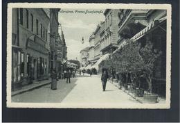 BOSNIA Sarajevo Franz Jozef Strasse Ca 1915 OLD POSTCARD 2 Scans - Bosnia And Herzegovina