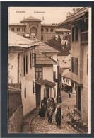 BOSNIA Sarajevo Strassenscene Ca 1915 OLD POSTCARD 2 Scans - Bosnia And Herzegovina