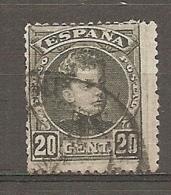 1901   Yv. N° 217  (o)   20c    Alphonse XIII   Cote  2 Euro  BE   2 Scans - Gebraucht