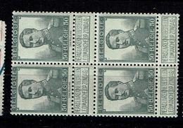 115  Bloc 4  **  12 - 1912 Pellens