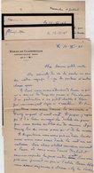 VP13.478 - 1945 - 4 Lettres De Mr Guy ? Au Haras De Clairefeuille à NONANT LE PIN ( Orne ) - Récit - Manuscripts