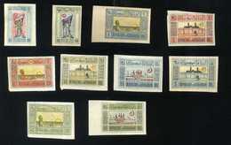 Lot  AZERBAIDJAN 1919/1922 10 VALEURS NEUF - Azerbaïdjan