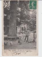 HAUTS De SEINE - 144 - RUEIL - Au Bois De St Cucufa -  Une Tasse De Lait à La Ferme  ( - Timbre à Date De 1910 ) - Rueil Malmaison