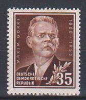 Maxim Gorki, Mxsim Gorkij Postfrisch, DDR 354, Russischer Schriftsteller - DDR