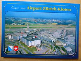 AEROPORT / FLUGHAFEN / AIRPORT    ZURICH KLOTEN - Aerodromes
