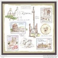 France  Bloc Feuillet Neuf Luxe ** 2002 N° 53 Timbre 3527 à 3530 Capitales Europeennes Rome Lot Vendu Sous Faciale - Sheetlets