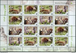 Afganistan 2004. Michel #??? MNH/Luxe. Klb. WWF. Himalayan Musk Deer. (Ts02/55) - Afghanistan