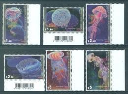 HONG KONG -  MNH/**- 2008 - MEDUSES - Yv 1391-1396 -  Lot 18288 - 1997-... Région Administrative Chinoise