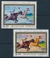 O 1979 Állatfestmények 1 Ft Nyomdailag Bélyegzett Bélyeg Citromsárga Színnyomat Nélkül. Certificate: Glatz - Timbres