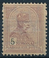 * 1900 Turul 5K (60.000) - Timbres