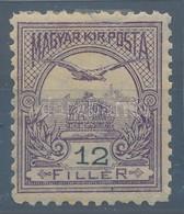 * 1900 Turul 12f, Felül Kis Beszakadás, De Javítva! 11 1/2 Sorfogazással (55.000) - Timbres