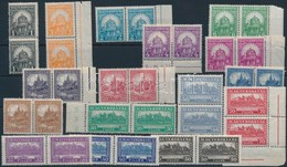 ** 1926 Pengő-fillér (I.) Sor Párokban (50.000) (ráncok / Creases) - Timbres