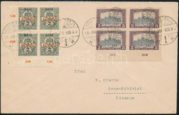 1920.jan.18. Kolozsvári Megszállási Bélyegekkel Bérmentesített Távolsági Levél. Dr. Szalay, A Legmagasabb Szaktekintély  - Timbres