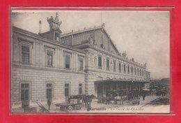 13-CPA MARSEILLE - LA GARE SAINT CHARLES - Station Area, Belle De Mai, Plombières