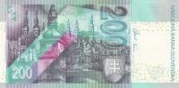 SLOVAKIA P. 45 200 K 2006 UNC - Slowakei