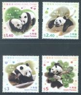 HONG KONG -  MNH/**- 2008 - PANDA - Yv 1397-1400 -  Lot 18289 - 1997-... Région Administrative Chinoise