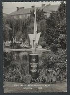 +++ CPA - ESPERANTO - Monumento - Linz/D - Malkovrita 1965   // - Esperanto