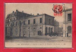 13-CPA MARSEILLE - LA CASERNE - Puerto Viejo (Vieux-Port), Saint Victor, Le Panier