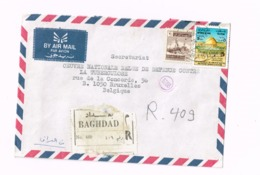 Lettre Recommandée De Bagdad à Bruxelles. - Iraq
