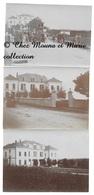 BUXY - L ECOLE COMMUNALE ET LA FANFARE - SAONE ET LOIRE - LOT DE 3 PHOTOS 11 X 8 CM - Lugares