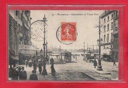 13-CPA MARSEILLE - LA CANEBIERE - Canebière, Centro
