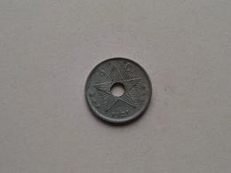 1921 - 5 Cent ( KM 17 ) Uncleaned ! - Congo (Belge) & Ruanda-Urundi